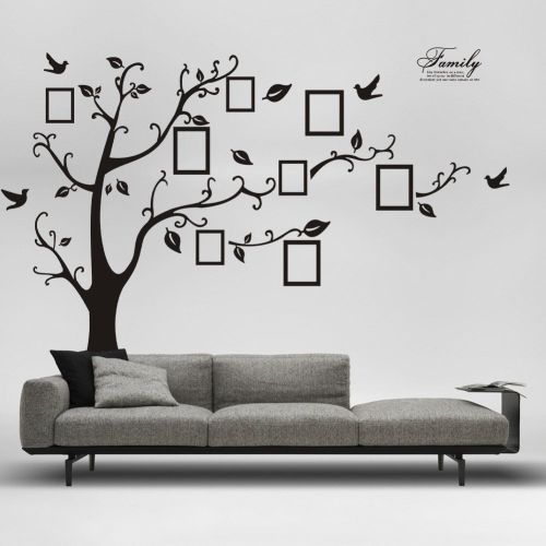 Tree Wall Stickers Living Room Bedroom Home Decor 3d Stickers