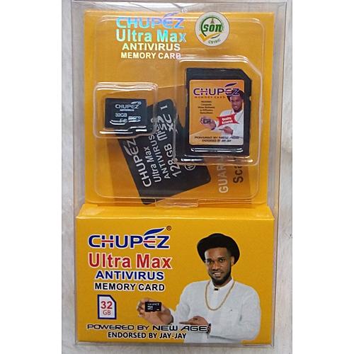 32gb Antivirus Memory Card