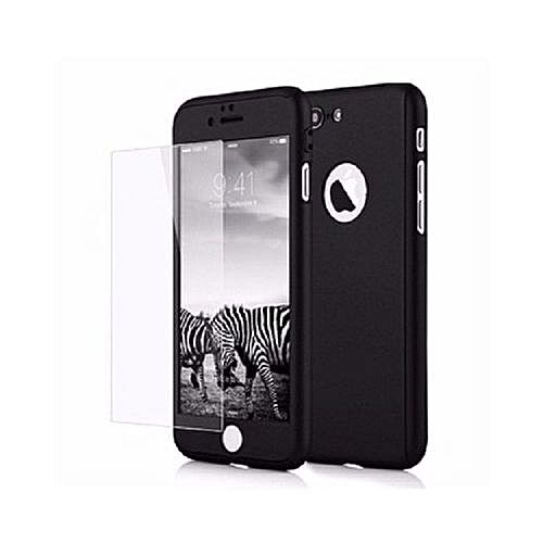 IPhone 5/5S/SE Full Armor 360 Protective Case With In-built Tempered