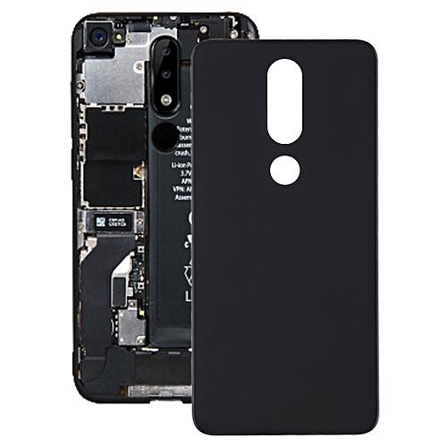 new product 7ba20 e96ab Back Cover For Nokia 5.1 Plus (X5)(Black)