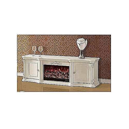TV Shelve With Electric Fire Flame (Lagos Delivery Only)
