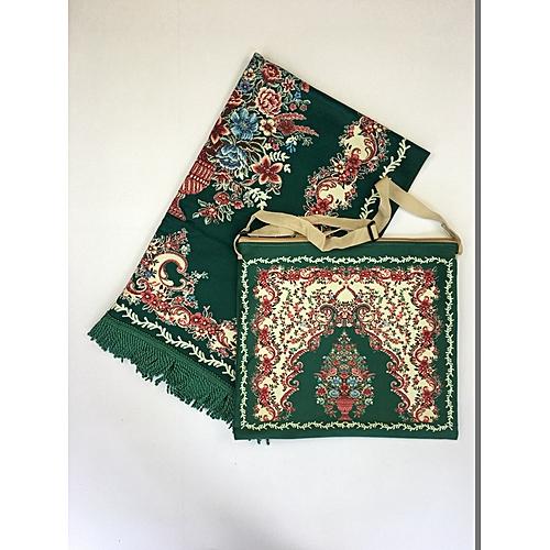 Muslim Prayer Mat With Bag For Travel Bag Prayer Mat ,Islam Prayer Rug With Bag Sets HGP-014 3D Print