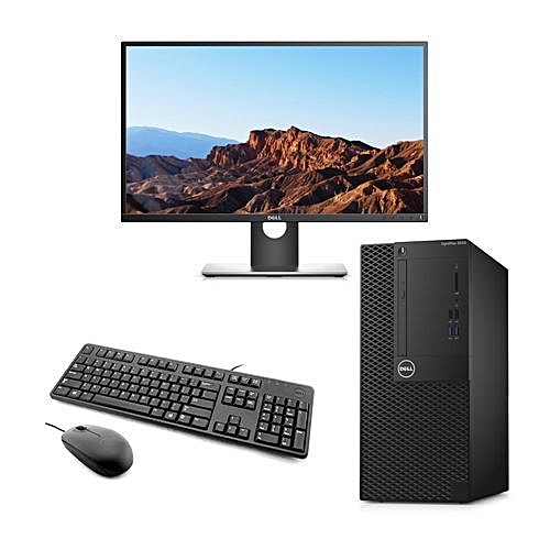 Optiplex 3050-3 Mini Tower Desktop Core-i5 4GB/500GB HDD + 19.5'' Monitor WIN10 Pro