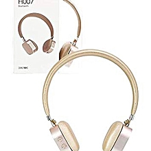 d29e2d7fbf3 Brown Bluetooth Wireless Rechargeable Headphone, Headset, Earphone,