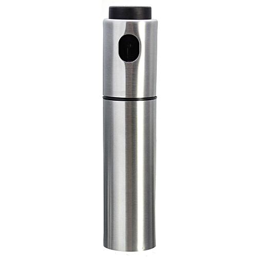 Portable Stainless Steel Pump Spray Fine Bottle Olive Oil Sprayer Kitchen Tool