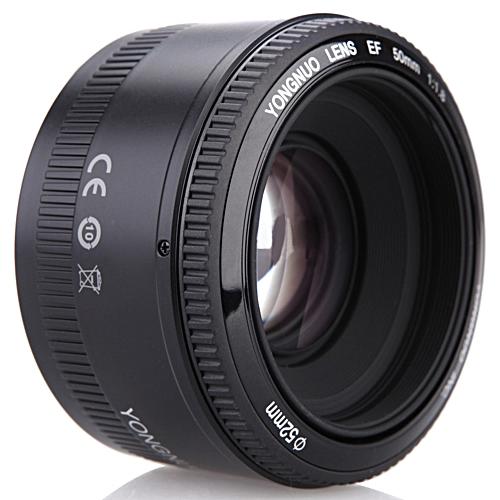 YN EF 50mm F/1.8 AF Lens 1:1.8 Standard Prime Lens Aperture Auto Focus For Canon EOS DSLR Cameras