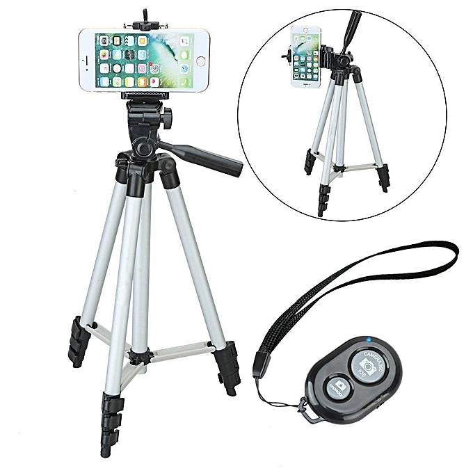 Custom 50 Inch Aluminum Camera Phone Tripod