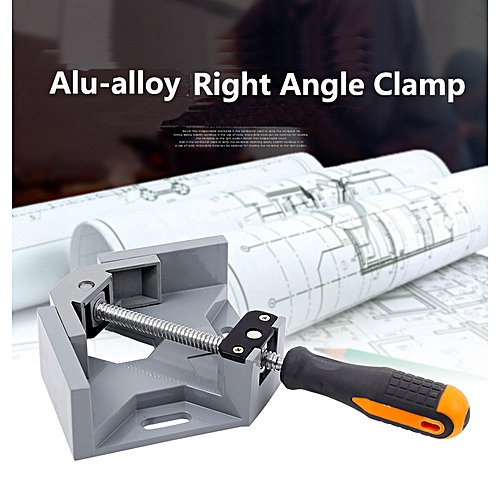 90 Degree Corner Right Angle Clamps Vice Frame Gussets Tool
