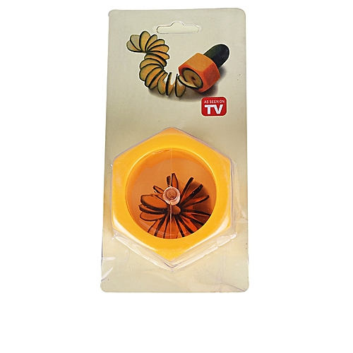 Cucumber Spiral Slicer - Orange