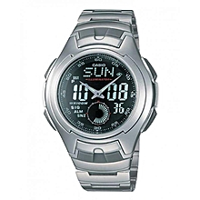 AQ160WD-1BV Men  039 s Stainless Steel Ana-Digi Electro-Luminescent c71b55013d