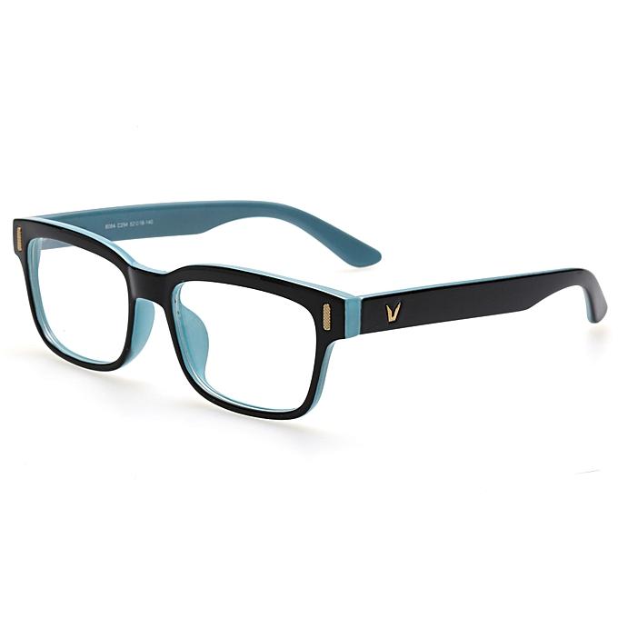 3fd2599639e Retro Rectangle Eyeglasses Optical Frames Clear Lens Black Glasses Leopard  Square Eyewear Spectacle Frames For Women