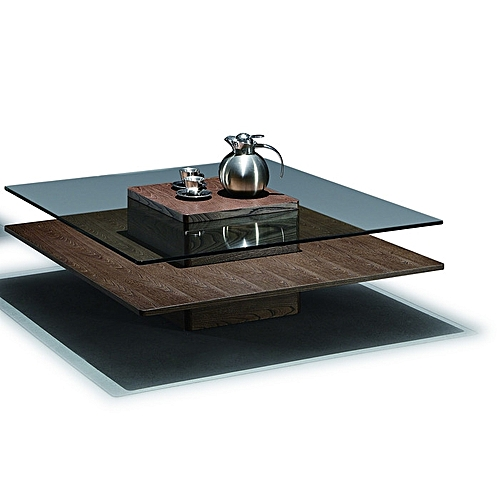 ROYAL EMPEROR COFFEE TABLE - BROWN (Delivery In Lagos Only)