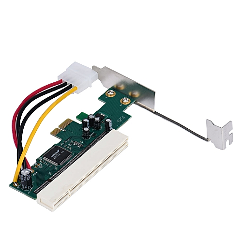 PCI-Express PCI-E To PCI Bus Riser Card High Efficiency Adapter Converter-As Shown