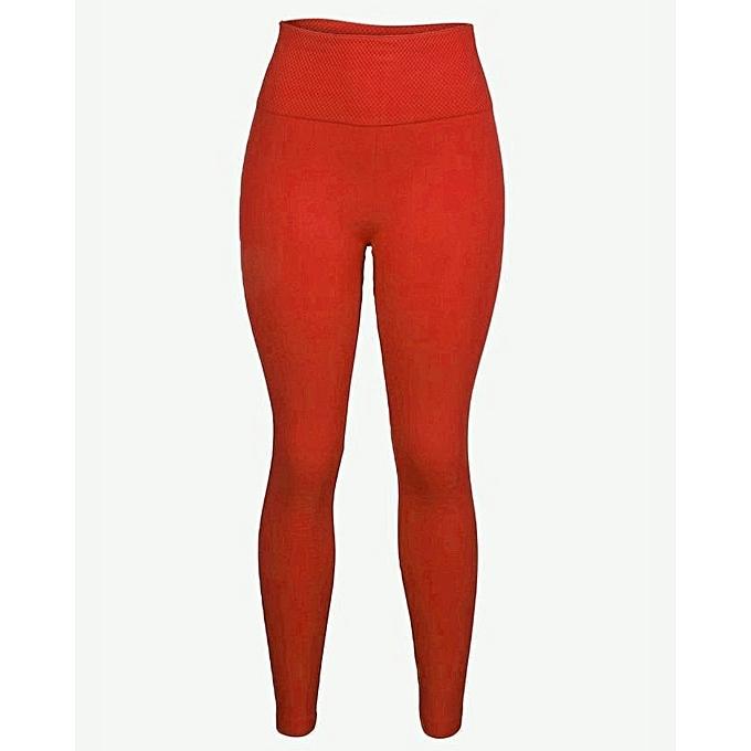 b1d601be6e90c Korean Ladies High Waist Thick Leggings-Red | Jumia.com.ng
