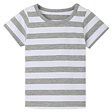 7549f6a5a27 Featured Children Infant Kid Boys Striped Print T-shirt Tops Casual Shirts  Tee