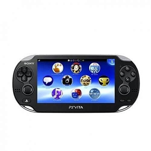 Sony Psvita (WiFi) Console Black