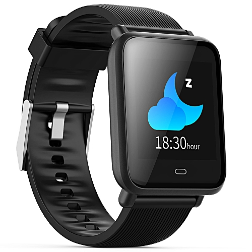 Q9 - Waterproof Sports Smart Watch For Android / IOS - Black