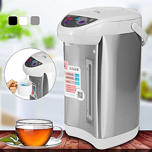 220V Stainless Steel Electric Water Boiler 750W Tea Kettle Microcomputer Control