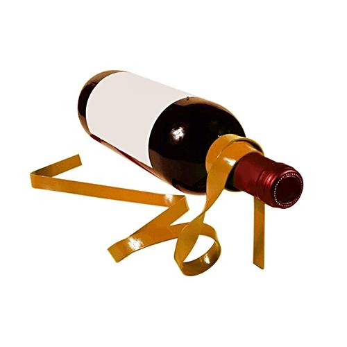 Magic Suspended Ribbon Wine Rack Suspension Wine Stand Novelty Iron Holder