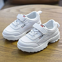 watch 70371 fb9fb FILA Kid  039 s Shoes Girls Sneakers Kinder Sport Light Shoes Kids White  Pink
