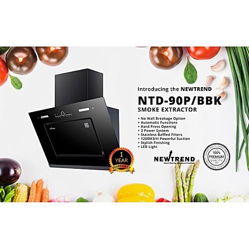 NTD-90P/BBK Auto-range Hood/smoke Extractor/cooker Hood (3 Power System)