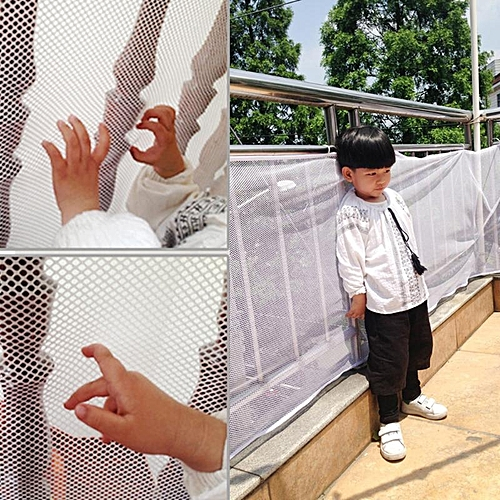 Children Thickening Fencing Protect Nets Climbing Balcony Stairway Child Safety Protection Wire Mesh 200*74cm