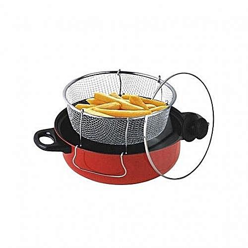 D N - Manual Deep Fryer- Non-stick