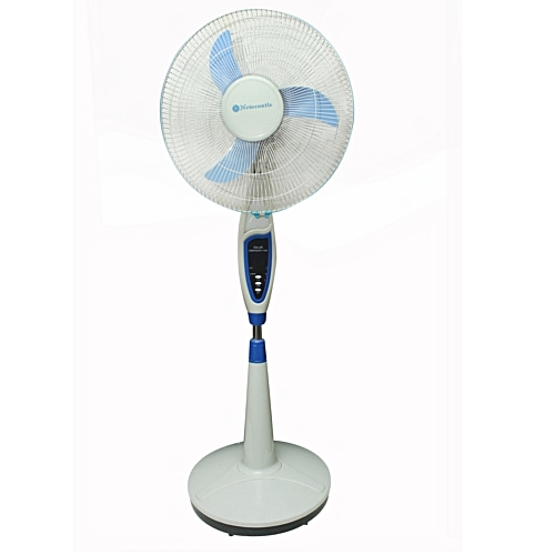 Rechargeable Fan, 16'' With Lamp