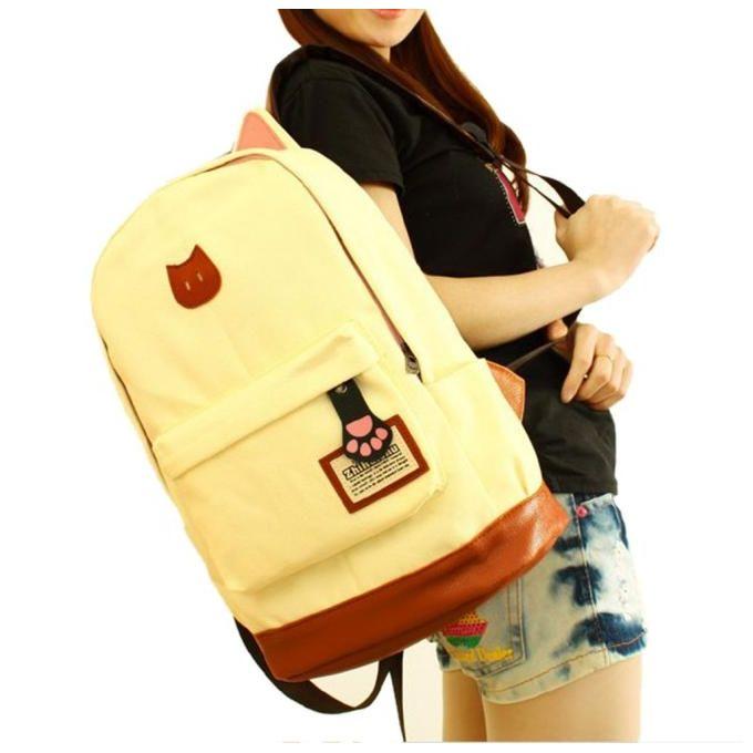 Neworldline women campus girls travel young men backpack for Schoolboy q girl power shirt