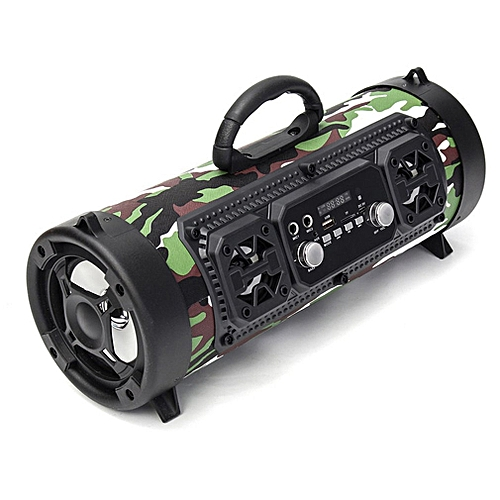 Portable 15W Multifunctional Wireless Bluetooth Subwoofer Stereo 3D Speaker