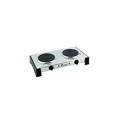 DOUBLE ELECTRIC HOT PLATE COOKER