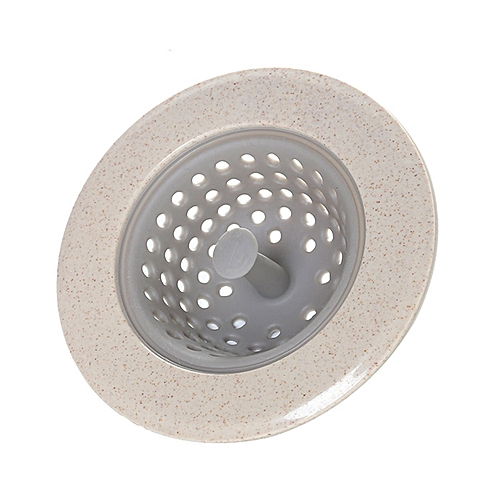 Silicone Home Kitchen Bathroom Round Shape Floor Drain Cover Filter Strainer
