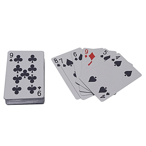 Golden & Silver Foil Plastic Poker Cards Texas Waterproof Poker Humor Entertainment Puzzles Games