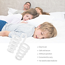 4Pcs/set Mini Silicone Anti Snoring Device Eliminate Or Relieve Snoring Nose Clip Sleep Aid