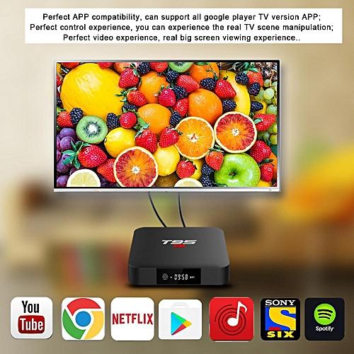 T95S1 IPTV Box 64Bit 2GB RAM 16GB ROM (1 Year Warranty) (Jet Black)