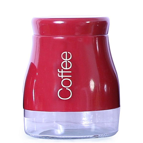 Coffee Canister - Red