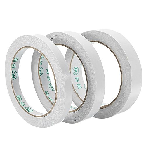 20m Double Sided Tape Roll Strong Adhesive Sticky DIY Crafts Office Supplies 3 Widths #3