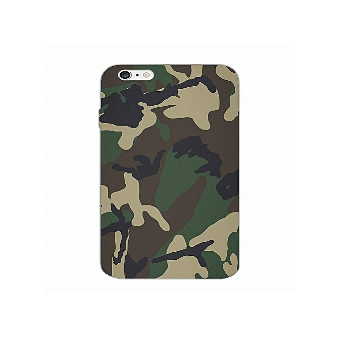 finest selection 69cb5 305bb Camouflage Back Cover For IPhone 6 Plus