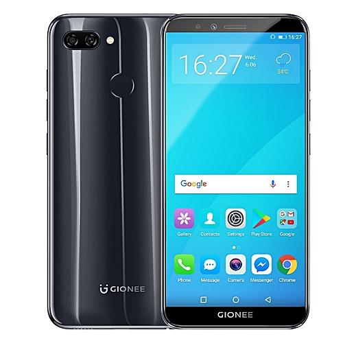GIONEE S11 LITE 4GB RAM 32GB ROM 5.7 Inch HD+ Full Screen Android 7.1 4G LTE Smartphone Black