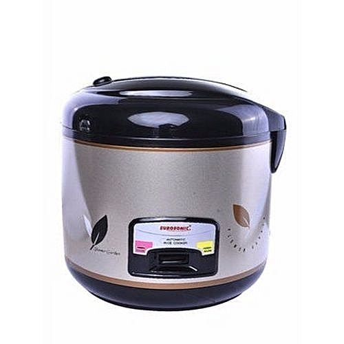 Multifunction 3 Litre Rice Cooker And Cooler Black & Platinum