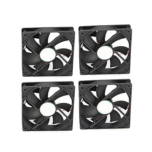 6 GPU Mining Rig Aluminum Case + 4 Fans Open Air Frame For ETH ZEC/Bitcoin