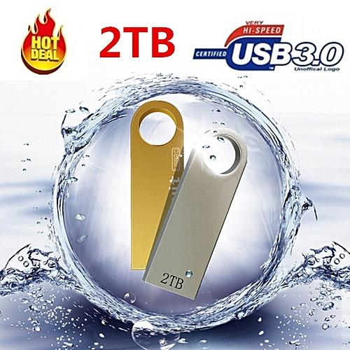 2TB USB Flash Drive Pendrive 2000GB Memory Cle USB 3.0 Metal Pen Drive Memoria U Stick Flash Drive Pendrives U Disk