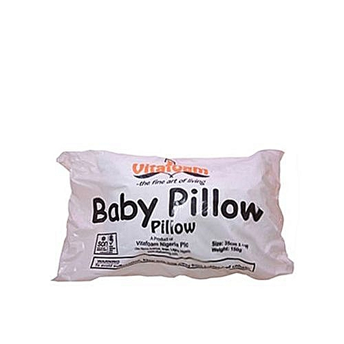 Baby Pillow- White