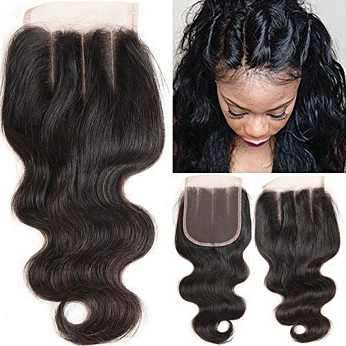 Closure 4*4 Three-Part Body Wave Lace Closure