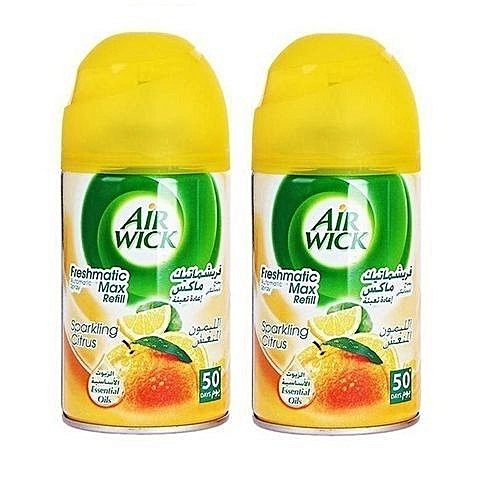 Freshmatic Refill Air Freshener - Citrus Lemon X 2