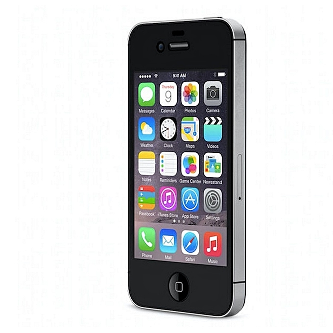 Apple gereviseerde iphone 4 8gb black refurbished