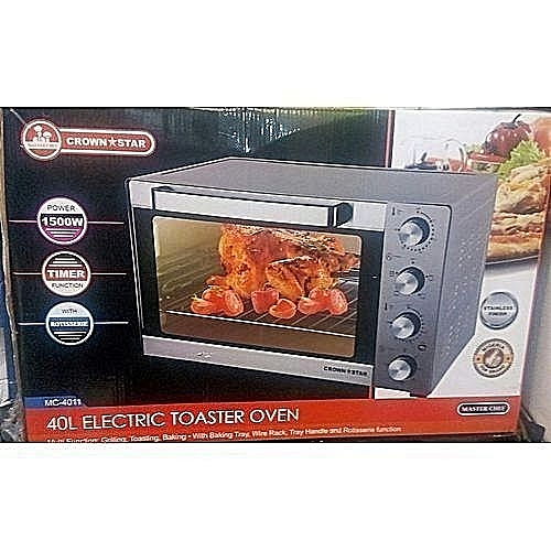 Electric Oven With Grill - 40L