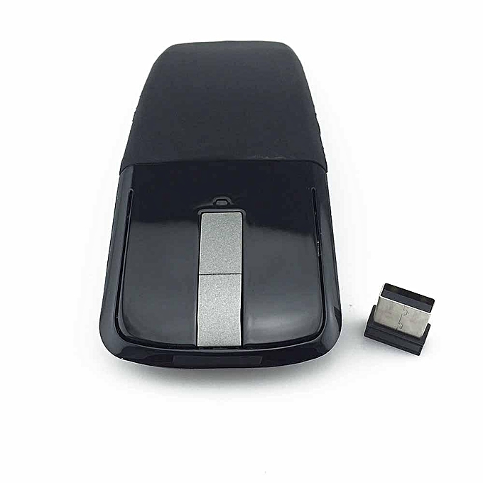 119b6997425 2.4Ghz Foldable Wireless Mouse Folding Arc Touch Mouse Mause Computer  Gaming Mouse Mice For Microsoft