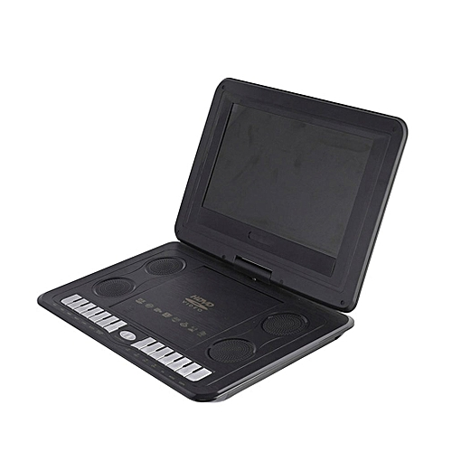 CO Portable HD 13.8 Inch Mobile DVD Player Game TV-Black
