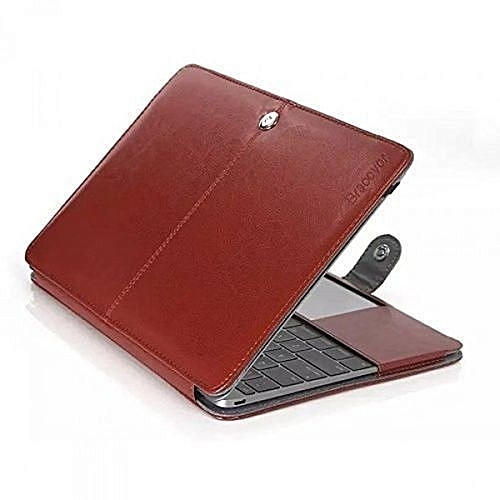 "Leather Case For Macbook Pro 13"" - Brown"